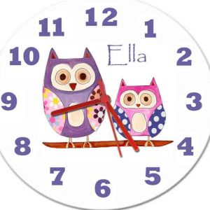 Baby Girl Clocks £15