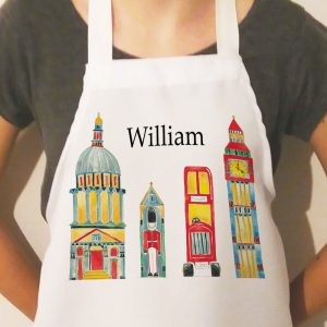 london personalised apron