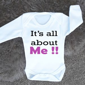 baby grow with text
