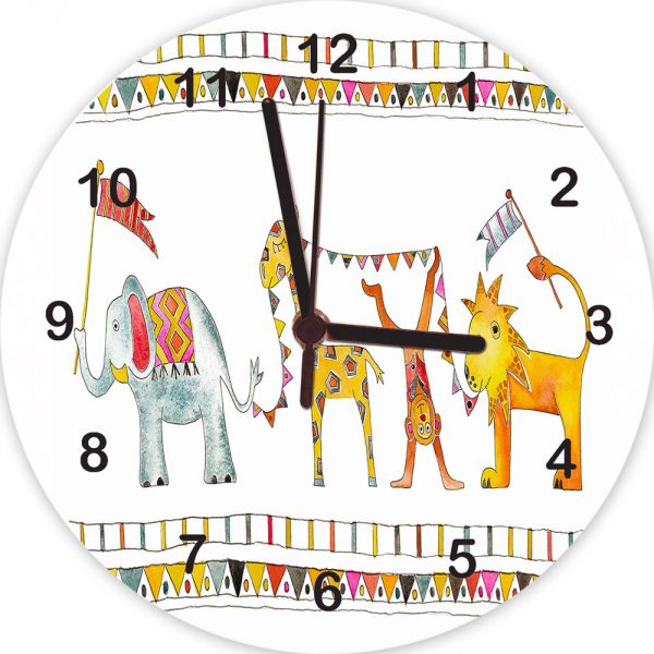nursery wall clocks