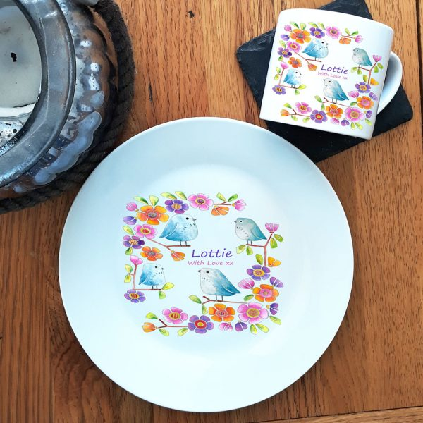 personalised gift for toddler, dinner set.