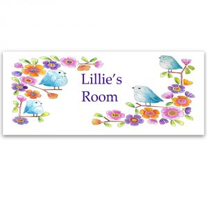 name plate door sign