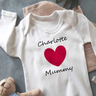 mothers day sleepsuit