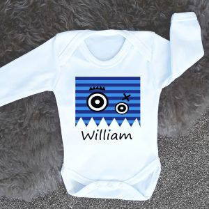 personalised baby clothing gifts