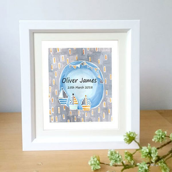 Boys Personalised Name Gift