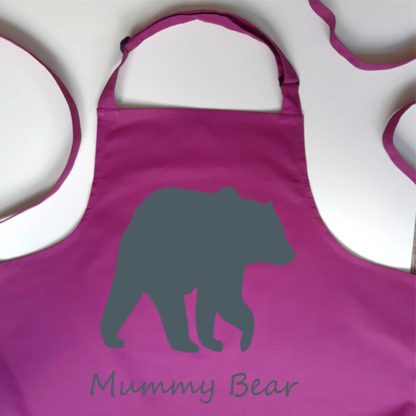 Mummy Bear Apron
