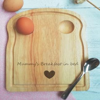 Mummy's breakfast board