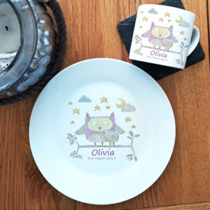 Christening Plates