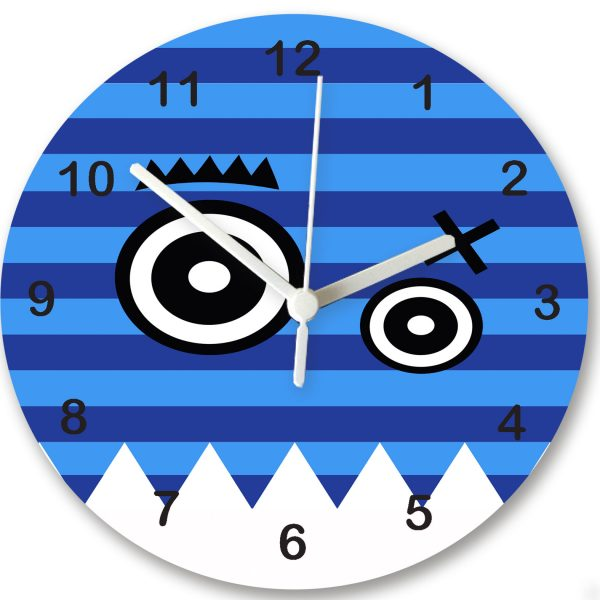 Personalised Boys Clock