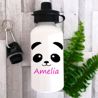 girls personalised bottle