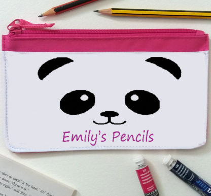 girls personalised pencil case