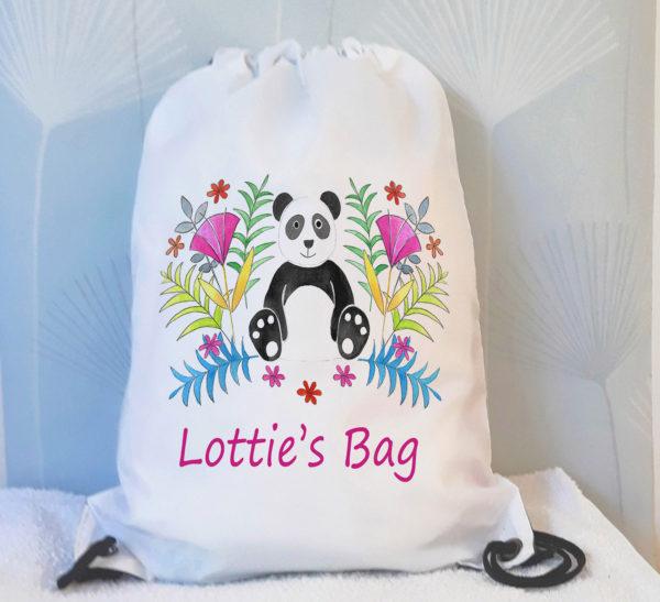 girls drawstring bags