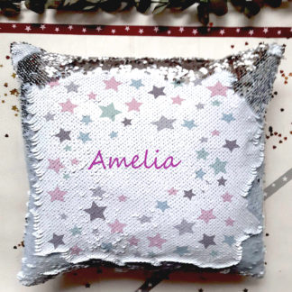 sequin reveal cushion