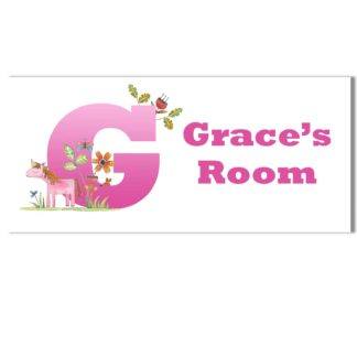 Unicorn Personalised Door Plaque