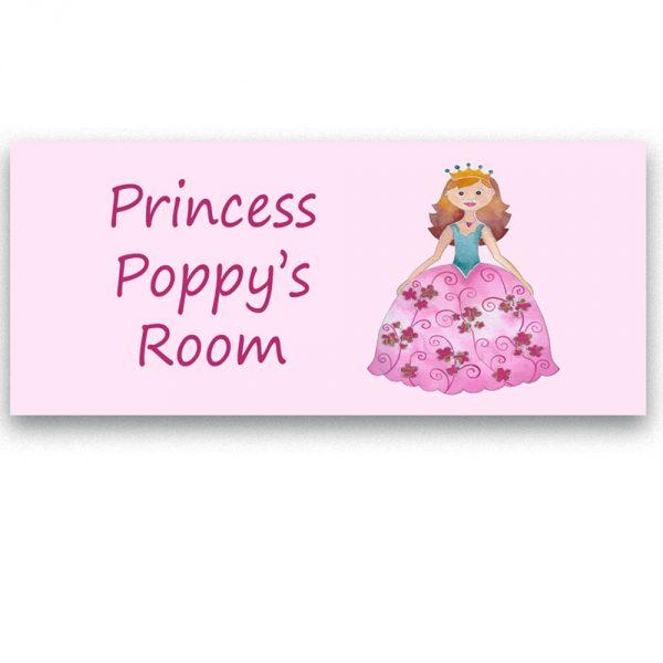 princess door sign
