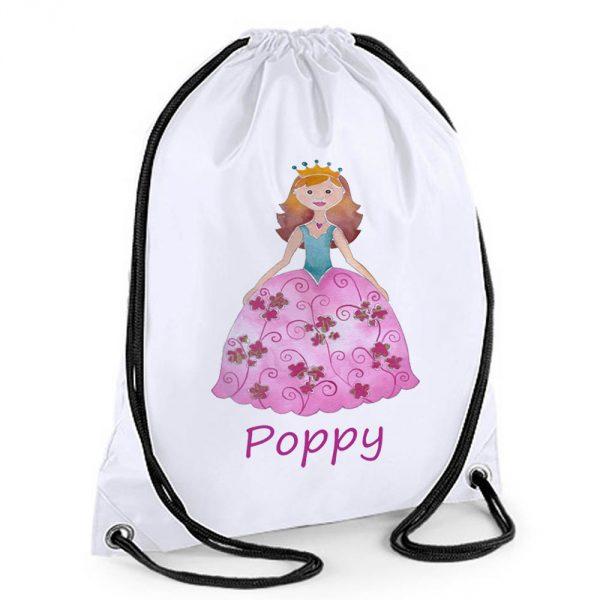 personalised swimming bag