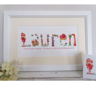 Personalised Name Pictures Archives - Tigerlily Prints