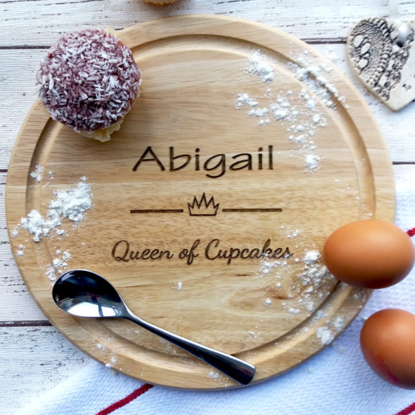 engraved chopping board gift