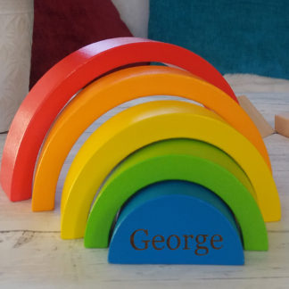 Rainbow Wooden Toy