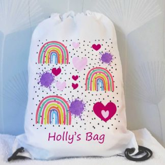Girls Drawstring Bags