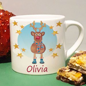 kids personalised Christmas Mug