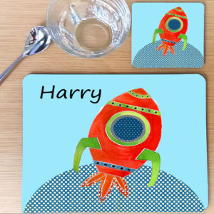 Personalised Children's table mat