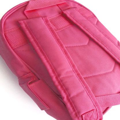 girls pink back pack