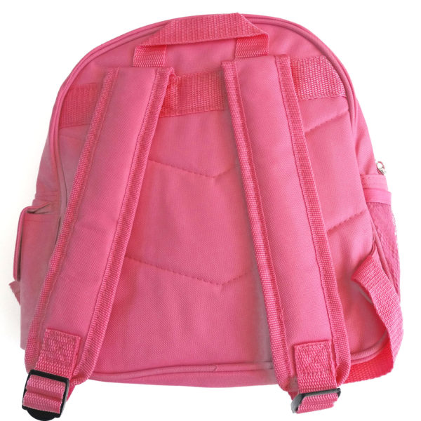 girls pink back pack