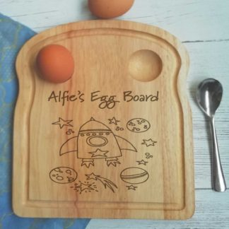 Personalised Space Egg Board