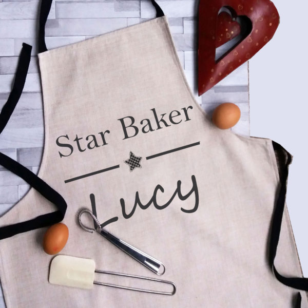personalised star baker for adult