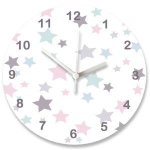 Baby Girl Clocks