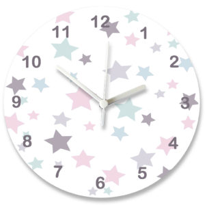 nursery wall clock