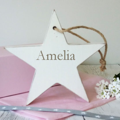 personalised wooden baby gifts