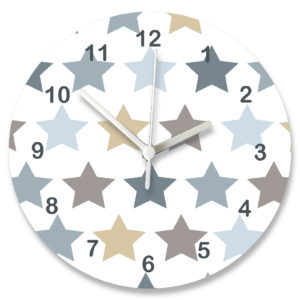 Personalised Nursery Clock
