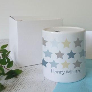 Personalised Boys Ceramics
