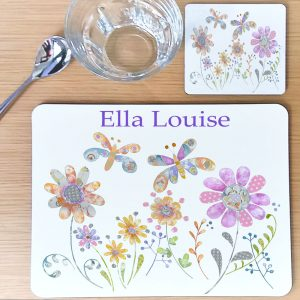 Girls Personalised Placemats