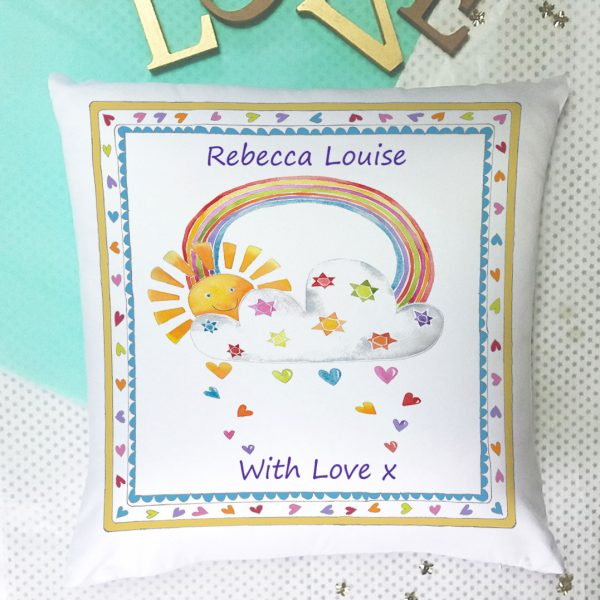 personalised cushion for girls gift