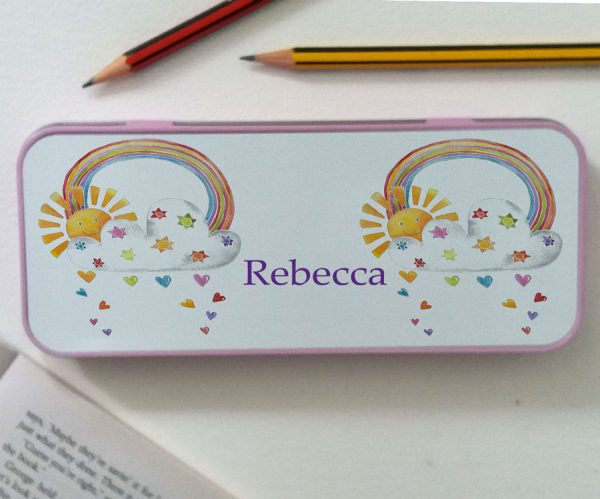 personalised pencil tin