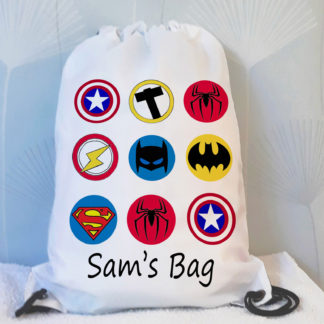 marvel drawstring bag