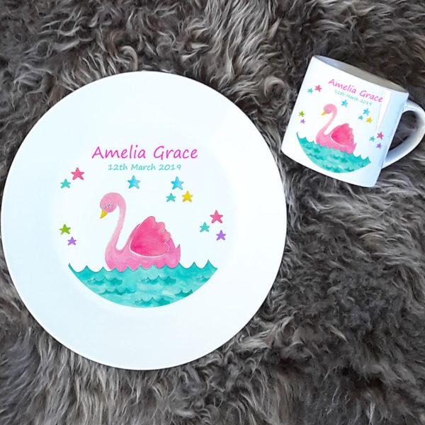 Personalised Baby Dinner Set