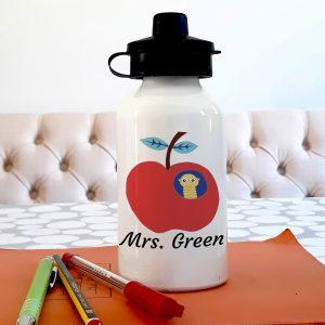Personalised teacher bottle