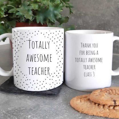 Awesome teacher mug