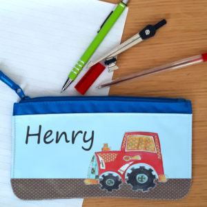 boys school pencil case