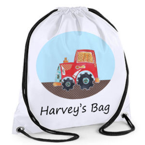boys tractor swimming bags