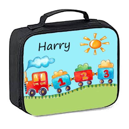 train lunch bag