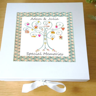 wedding day keepsake box