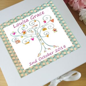 baby girl keepsake boxes
