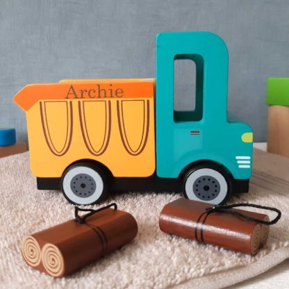 Personalised Wooden Truck
