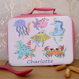 girls school lunch bag