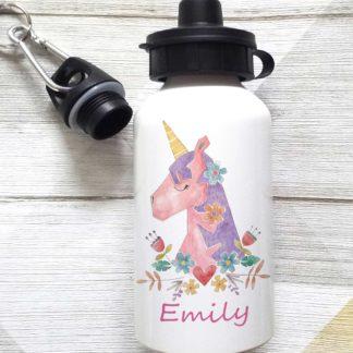 Girls Personalised Bottles